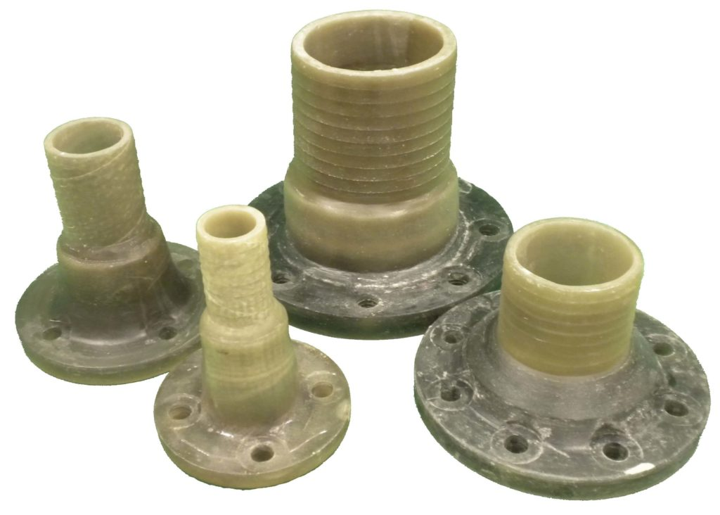 FRP Hose Barb Flanges (2 to 6 Inch)