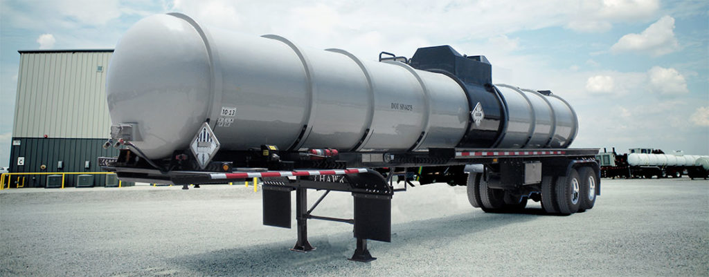 Single-Compartment-Acid-Transport-FRP-Tank